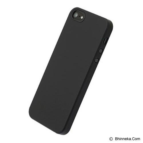 POWER SUPPORT Air Jacket for Apple iPhone 5 Rubber Coating [PJK-72] - Black - Casing Handphone / Case